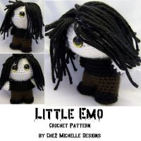 Little Emo - Crochet Pattern by ChezMichelle