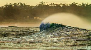 Mollymook Wave 1 by TarJakArt