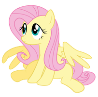 Fluttershy Puppy Face Vector by PaulySentry