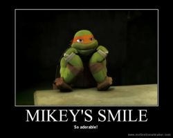 Mikey's Smile by Mikichan17