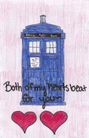 Doctor Who Valentine by FallingWithoutStyle