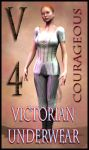 Victorian Underwear for V4 Courageous by mylochka