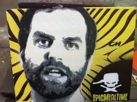 Harley Morenstein by Stencils-by-Chase