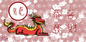Happy Chinese New Year 2012 by naochandoodles