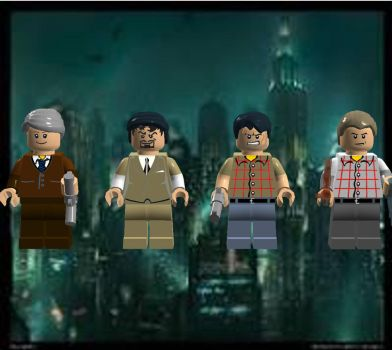 Lego Bioshock Charaters by nmort69