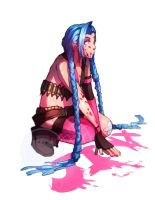 Jinx fan art by Hamzilla15