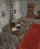 Dragon Age 2 - Meredith's office by Mageflower