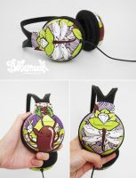 Dragonfly Headphones by Bobsmade