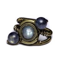 Steampunk orbit ring by CatherinetteRings