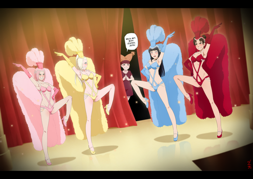 Commission - Konoha Showgirls by dannex009