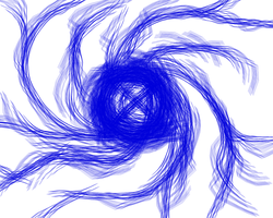 Blue Spiral by Rthecreator
