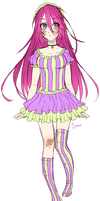 Another old voca-oc ovo'' by Emiko-suu