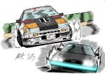 Levin 86 and Delorean by topgae86turbo