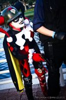 Mega Con - Sneaky Harley Quinn by Rebecca-Manuel