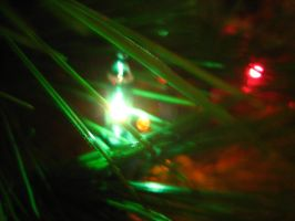 Christmas Tree Lights 3 by Holly6669666