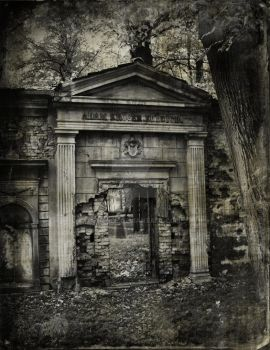 The Abandoned Cemetery... by Erinle