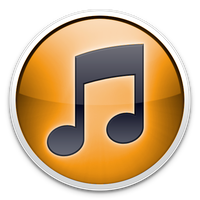 Orange iTunes Icon by TheArcSage