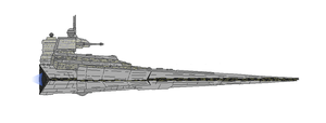 Star Wars KDY Victory II-class Star Destroyer by Seeras