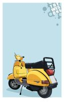 BUY ME A VESPA. by mrwestattoo