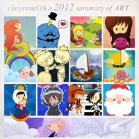 2012 Summary of Art by elicoronel16
