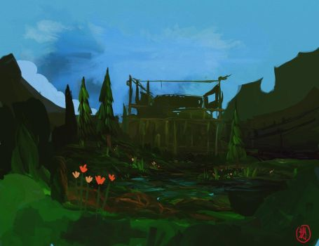 background by Dhavid-a