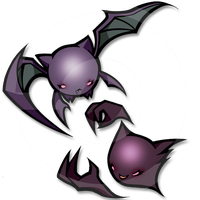 crobat et haunter by blackxprince