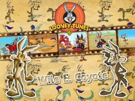 Wile E. Coyote | Looney Tunes - Wallpaper by Howie62