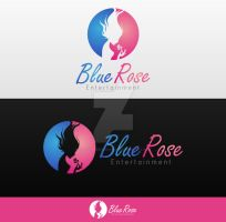 Blue Rose logo by overminded-creation
