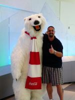 Me and Coke Bear by IceGripp