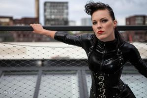 Leather and Latex by CarmineWorx