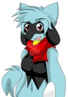 Shell / Shelley The Riolu Again by Zander-The-Artist