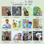 Art Summary 2013 by Oly-RRR
