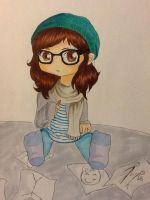 Me as a chibi by oOkikiOo