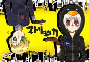 .::Matryoshka - Iceland and Norway::. by PuffinBanshee