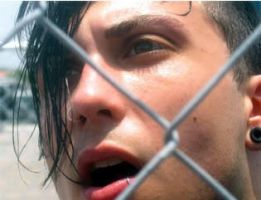 Caged Iero by Angel-Eyed-Vengeance