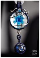 Blue Incarnation Pendant by XenOhm