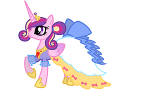 Cadance in dress by Twistare
