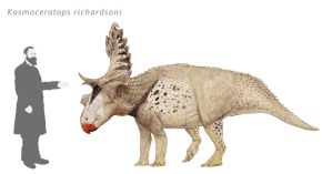 Quick Kosmoceratops by Hyrotrioskjan