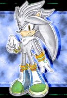-Silver the Hedgehog- by Chibi-Nuffie