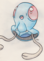 Tentacool by Shabou