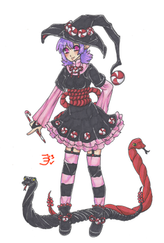 POINTS Candy Witch Adopt OPEN by RukaisaADOPTS