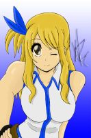 Lucy Heartfillia Colored by PlatinumxRose