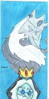 I Remember You Ice King sketch cards by johnnyism