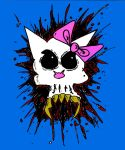 Kitty splatter by MarkG72