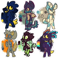 POINT ADOPTS! (+SPECIAL COMMISSIONS OFFER!) by OliveCow