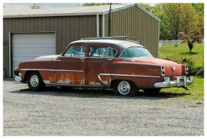 An Old Chrysler Side View by TheMan268