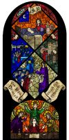 Middle Ages stained glass project by SophiaDragonMaster