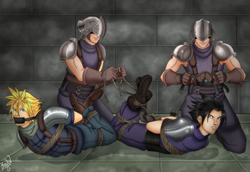 Cloud and Zack Kidnapped by Bowen12a