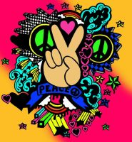 Peace - Color by the-pink-ranger