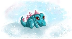 Totodile by LadySilvie